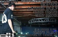 SESHOLLOWATERBOYZ TOUR featuring BONES, XAVIER WULF, CHRIS... fuck yes