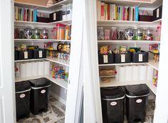 Como organizar a despensa ou o armário da cozinha 1
