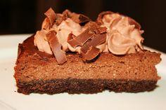 Italian Amaretto Chocolate Ricotta Cheesecake