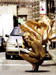 lovelostfashionfound:  Hanne Gaby Odiele - Muse Magazine October 2008