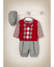 Janie and Jack - Layette Boy 0-18 months - ....Fabian's Christmas oufit!