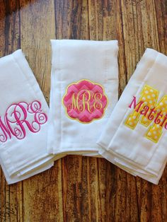 Love love love these colors personalized burp cloth and bib set personalized burp cloth and bib set by elainestiarasntutus 2300 oh baby pinterest bibs personalised baby and babies negle Gallery