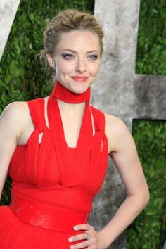 Amanda Seyfried at the Vanity Fair Oscar Party at Sunset Tower in West Hollywood, California #beauty #makeup #celebrity