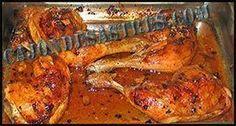 Muslos de pollo al horno. Cocina facil - Fırın yemekleri - Las recetas más prácticas y fáciles Cooking Recipes, Healthy Recipes, Cooking Ideas, Chicken Wings, Turkey, Meat, Food, Ideas Para, Tapas