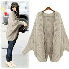 big knit sweater- I love this