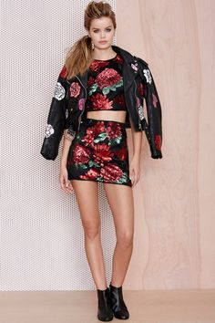 Nasty Gal x Peggy Noland Hand-Painted Leather Jacket | Shop What's New at Nasty Gal