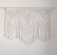 Large Macrame Wall Hanging by getknottywithkelly on Etsy
