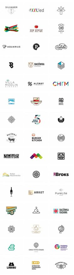 A big collection of well designed logos by Klaudia Szymańska. Klaudia Szymańska…