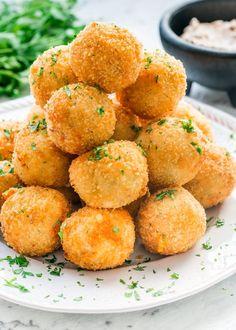 Potato Croquettes - Jo Cooks