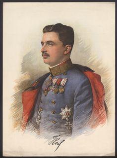 Císař Karel I., Rakousko-Uhersko, 1917 // Emperor Karel I. Emperor, Hungary, Austria, People, Painting, Art, Art Background, Painting Art, Kunst