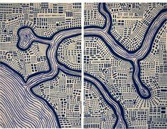 You Are Here: Mapping the Psychogeography of New York City, Pratt Manhattan Gallery, New York, 2010.