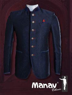 Royal blue self printed Italian Jodhpuri suit #ManavEthnic #Jodhpuri #Suits #EthnicWear #IndianEthnic #MensEthnic #MensFashion #Fashion #TraditionalWear #TraditionalAttire