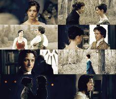 Anne Hathaway (Jane Austen) & James McAvoy (Tom Lefroy) - Becoming Jane (2007) #janeausten