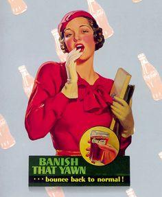 Coca Cola Add Poster
