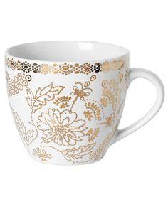 INDIGO mugg vit | Mugs/cups | null | Glas & Porslin | Inredning | INDISKA Shop Online