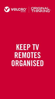 Never lose your remote again! Use our VELCRO® Brand Stick On Tape to mount it to your TV. #homeorganisation#organising#organisingtips#organisinghacks#declutter#organisationgoals#homehacks#getorganised#tvmounting#declutteryourlife#cablemanagement #decluttering Organisation Hacks, Organization, Declutter Your Life, Mounted Tv, Cable Management, Home Hacks, Organising, Decluttering, Losing You