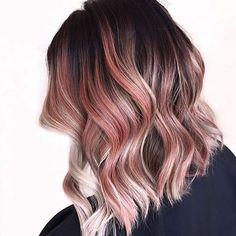 Strawberry ombré ✨ #hair #envy #love #goals