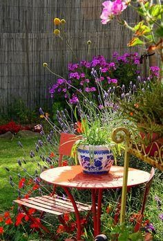 corner of my garden by freefallingletty, via Flickr