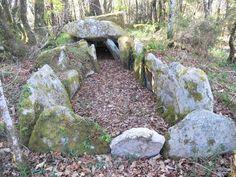 Parc Er Roc'h dolmen - Morbihan, Brittany, France