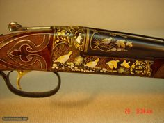 """WINCHESTER Model 21 CSM EXHIBITION ENGRAVED SIDE X SIDE ... 20 gauge ... 28"""" barrels ... 2 3/4"""" chambers ... choked IC/Mod ... tapered vent rib ... single selective trigger"""