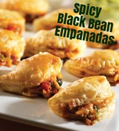 Campbell's Spicy Black Bean Empanadas Recipe - Gather the ingredients for the tasty empanadas and either bake right away or freeze to bake later. You will love having these appetizers on hand for any occasion.