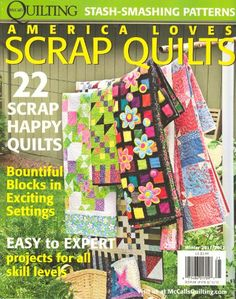 mcCall's Quilting America Loves Scrap Quilts « Library User Group