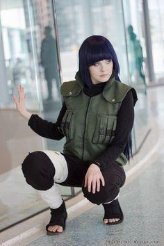AMAZING cosplay ll Naruto ll Team 8: Hinata Hyuga by nanami0406