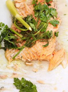 Creamy Pasta with Salmon Recipes Salmon Recipes, Fish Recipes, Seafood Recipes, Pasta Recipes, Healthy Pastas, Healthy Recipes, Healthy Food, Yummy Food