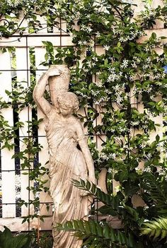 I hope that I will one day have a garden with beautiful greek statuary in it.