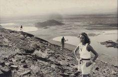 Peter Beard, Lauren Hutton at Lake Turkana, 1970s