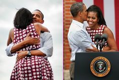 A Warm Embrace - The Obama Family's Sweetest Moments