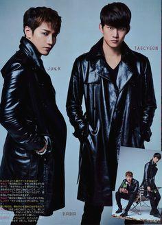 Jun K and Taecyeon ♡ #2PM - Women's Weekly Magazine