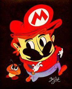 Quick Mario by *Themrock on deviantART