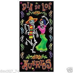 HALLOWEEN Day Of The Dead Party Dia de Los Muerto Decoration Wall DOOR COVER ** Be sure to check out this awesome product.