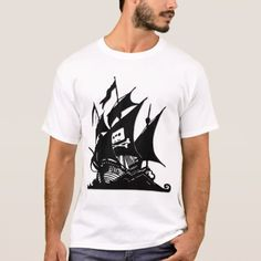 The Pirate Bay Logo Ship T-Shirt - click to get yours right now!