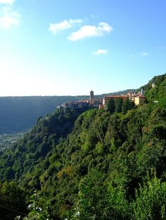 Town on The Hill - Nemi, Lazio, Italy