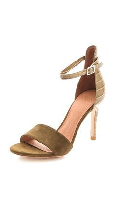 Joie Jaclyn Ankle Strap Sandals. I have this in black i just love it. Its one of those where with anything shoe <3