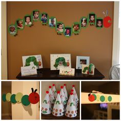 Very Hungry Caterpillar Birthday: Party Decor - You Name It Events Chicago