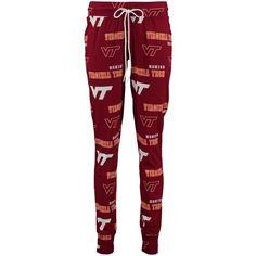 8830c7c70 Virginia Tech Hokies Concepts Sport Women's Fusion All Over Pajama Pants -  Maroon