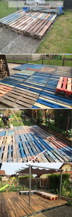 Chicken Coop - Amazing Uses For Old Pallets – 20 Pics Building a chicken coop does not have to be tricky nor does it have to set you back a ton of scratch. Old Pallets, Recycled Pallets, Wooden Pallets, Pallet Walls, Pallet Furniture, Furniture Projects, Pallet Crafts, Diy Pallet Projects, Backyard Projects