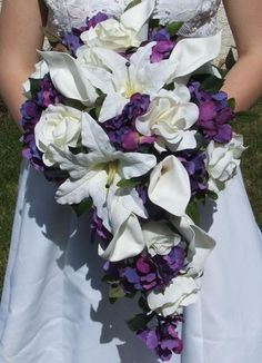 Ahh the purple ones are the same color that were in my senior prom corsage