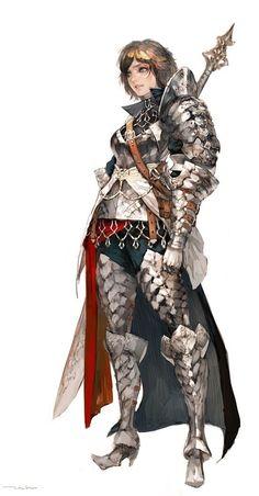 판타지 게임 캐릭터에 절대 빠질 수 없는 것이 바로 갑옷입은 캐릭터 들이다. 보잘것 없는 경비부터 용사에...