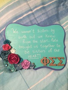 Obviously change this to Alpha Sigma Tau, but I love the saying