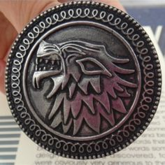 Song of Ice and Fire vintage antique silver Dire Wolf Pin //Price: $9.97 & FREE Shipping // #robbstark #motherofdragons #grrm #housestark #books #winterfell #jaimelannister #westeros Game Of Thrones Accessories, Vintage Brooches, Vintage Jewelry, Game Of Thrones Necklace, Game Of Thrones Merchandise, Dire Wolf, Wolf Spirit, Mother Of Dragons, Jewelry Sets
