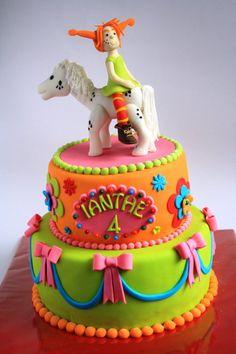 Pippi Langkous taart pippi longstockings cake