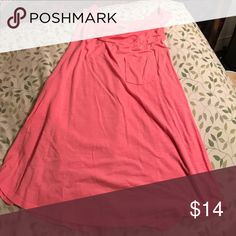 VS Pink tank top with pocket Coral/pink Victoria's Secret Pink tank top with pocket on the front PINK Victoria's Secret Tops Tank Tops