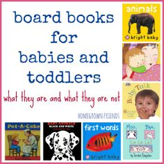 Board Books for Babies and Toddlers: What They Are and What They Are Not (Homegrown Friends) Reading Activities, Literacy Activities, Infant Activities, Infant Toddler Classroom, Toddler Learning, Book Suggestions, Book Recommendations, Toddler Books, Childrens Books