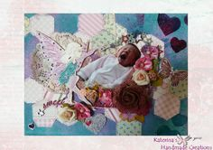 Mixed media canvas - Sweet Dreams...<3<3<3