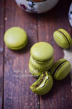 Matcha Macarons — Yankitchen