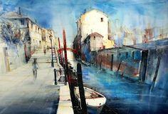 Rio Della Sensa, Venedig, Heinz Schweizer